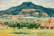 Georgia O'Keeffe - My Front Yard, Summer, 1941