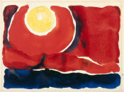 Georgia O'Keeffe - Evening Star No. VI, 1917