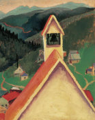 Georgia O'Keeffe - Church Bell, Ward, Colorado, 1917