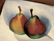 Georgia O'Keeffe - Untitled (Two Pears), 1921