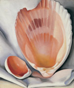 Georgia O'Keeffe - Two Pink Shells/Pink Shell, 1937