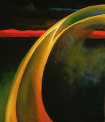 Georgia O'Keeffe - Red and Orange Streak, 1919