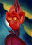 Georgia O'Keeffe - Red Canna, 1919