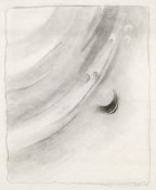 Georgia O'Keeffe - Abstraction with Curve and Circle, 1915-1916