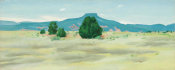Georgia O'Keeffe - Ghost Ranch Landscape, ca. 1936