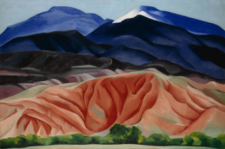 Georgia O'Keeffe - Black Mesa Landscape, New Mexico / Out Back of Maries II, 1930
