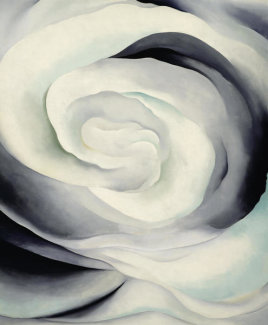 Georgia O'Keeffe - Abstraction White Rose, 1927