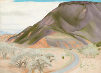 Georgia O'Keeffe - Mesa and Road East, 1952