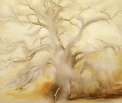 Georgia O'Keeffe - Winter Tree III, 1953