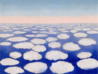 Georgia O'Keeffe - Above the Clouds I, 1962/1963