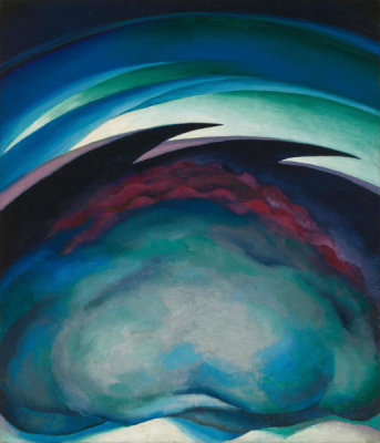 Georgia O'Keeffe - Series I - From the Plains, 1919