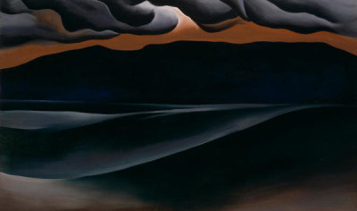 Georgia O'Keeffe - Storm Cloud, Lake George, 1923