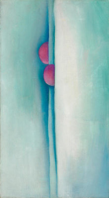 Georgia O'Keeffe - Green Lines and Pink, 1919