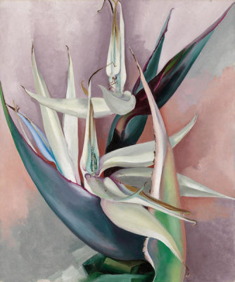 Georgia O'Keeffe - White Bird of Paradise, 1939