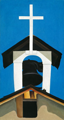 Georgia O'Keeffe - Church Steeple, 1930