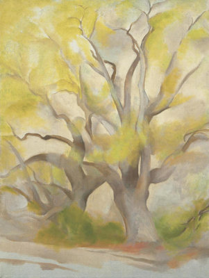 Georgia O'Keeffe - Green Tree, 1953