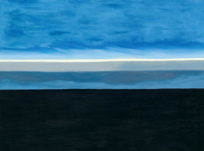 Georgia O'Keeffe - The Beyond, 1972