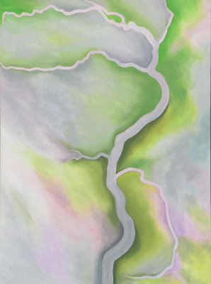 Georgia O'Keeffe - From the River - Pale, 1959