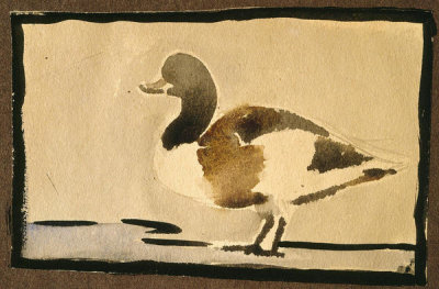 Georgia O'Keeffe - Untitled (Duck), 1912-1914