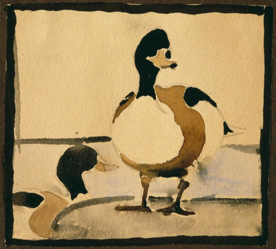 Georgia O'Keeffe - Untitled (Ducks), 1912-1914