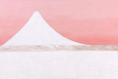 Georgia O'Keeffe - Untitled (Mount Fuji), 1960
