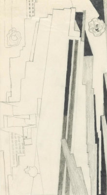 Georgia O'Keeffe - Untitled (Manhattan), 1932