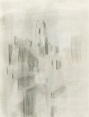 Georgia O'Keeffe - Untitled (New York), 1932