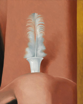 Georgia O'Keeffe - White Feather, 1941