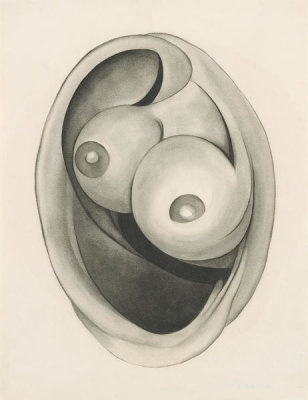 Georgia O'Keeffe - Abstraction, 1945
