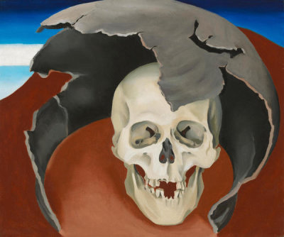 Georgia O'Keeffe - Head with Broken Pot, 1943